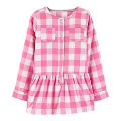 Girls 4-12 Carter's Checkered Flannel Tunic
