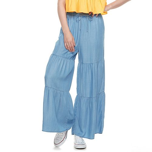 k/lab High Waisted Tiered Culottes