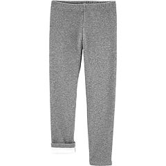 Girls 4-12 Carter's Glitter Fleece Leggings