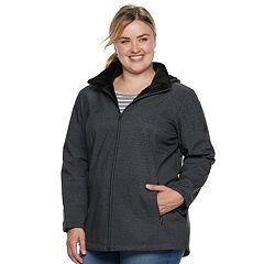 Plus Size ZeroXposur Tammi Hooded Soft Shell Jacket