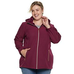 Plus Size ZeroXposur Tammi Hooded Soft Shell Jacket