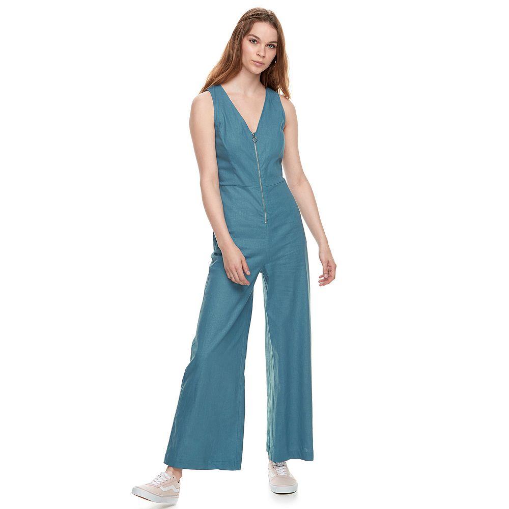 k/lab Zip Front Jumpsuit