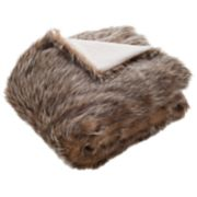 Safavieh Dusty Faux Fur Throw