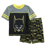 Boys 4-12 Batman 2-Piece Pajama Set