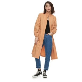 k/lab Ruffled Tiered Trench Coat