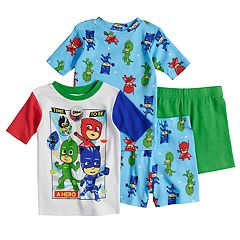 Boys 4-8 PJ Masks 4 pc Pajama Set