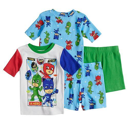 d15d5d7ee96c Boys 4-8 PJ Masks 4-Piece Pajama Set