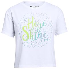Girls 7-16 Under Armour 'Here to Shine' Graphic Tee