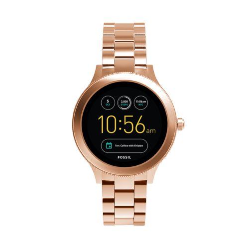 Fossil Women's Q Venture Gen 3 Stainless Steel Smart Watch   Ftw6000 by Kohl's