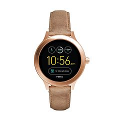 Fossil Women's Q Venture Gen 3 Leather Smart Watch - FTW6005