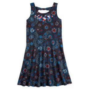 Girls 7-16 & Plus Size SO® Fireworks Print Dress