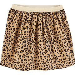 Girls 4-12 Carter's Cheetah Corduroy Skirt