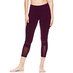 Women's Gaiam Om Hatha Pocket Yoga Midrise Capri Leggings