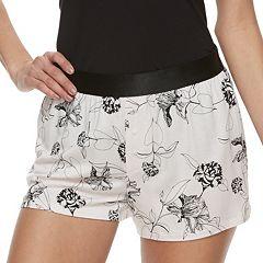 Women's Apt. 9® Everyday Pajama Shorts