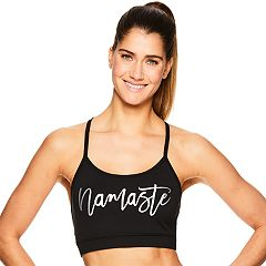 Gaiam Prism 'Namaste' Low-Impact Sports Bra GKW183BR10