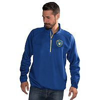 Men's Milwaukee Brewers Pacemaker Bonded Fleece Pullover