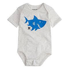 Baby Boy Hurley Shark Logo Bodysuit