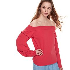 k/lab Off The Shoulder Sweatshirt