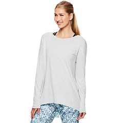 Women's Gaiam Serenity Split Back Yoga Top