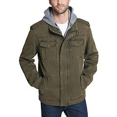 Men's Levi's® Hooded Military Trucker Jacket