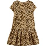 Girls 4-12 Carter's Cheetah Corduroy Dress