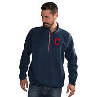 Men's Cleveland Indians Pacemaker Bonded Fleece Pullover