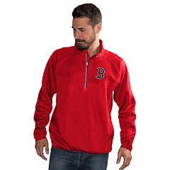 Men's Boston Red Sox Pacemaker Bonded Fleece Pullover