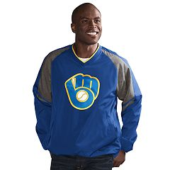 Men's Milwaukee Brewers Three Peat Pullover