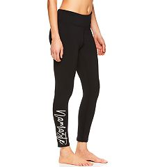 Women's Gaiam Om Prism 'Namaste' Graphic Midrise Ankle Leggings