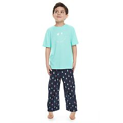 Boys 4-20 Jammies For Your Families 'Luv Ya More Than Ice Cream' Tee & Bottoms Pajama Set
