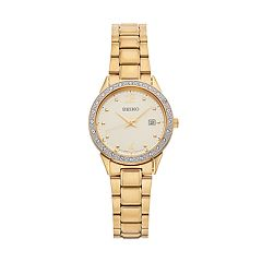 Seiko Women's Crystal Stainless Steel Watch - SUR674