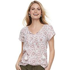 Women's SONOMA Goods for Life™ Pintuck Tee