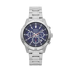 Seiko Men's Stainless Steel Chronograph Watch - SKS603