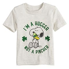 Toddler Boy Jumping Beans® Peanuts Snoopy & Woodstock Irish Graphic Tee