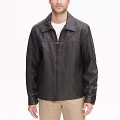 Men's Dockers James Faux-Leather Open-Bottom Jacket