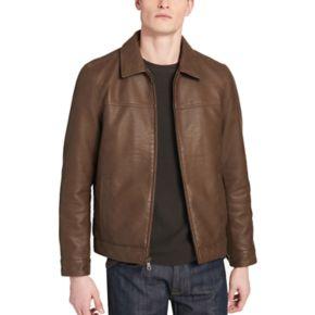 Men's Dockers James Faux-Leather Open-Bottom Jacket