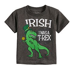 Toddler Boy Jumping Beans® 'Irish I Was A T-Rex' Graphic Tee