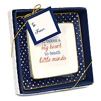 New View Teacher Trinket Tray 2-piece Set