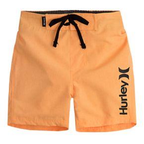 Baby Boy Hurley Logo Swim Trunks