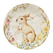 Certified International Bunny Patch 13 in Serving Platter