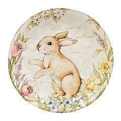 Certified International Bunny Patch 13-in. Serving Platter