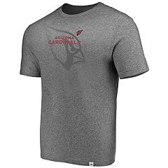 Men's Majestic Arizona Cardinals Static Fade Tee
