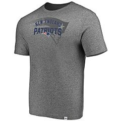 Men's Majestic New England Patriots Static Fade Tee