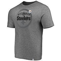Men's Majestic Pittsburgh Steelers Static Fade Tee