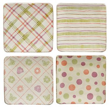Bunny Patch 4-pc. Plate Set