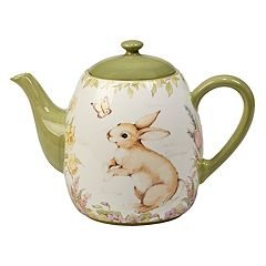 Certified International Bunny Patch 40-oz. Teapot