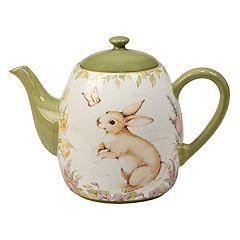 Certified International Bunny Patch 40-oz. Teapot