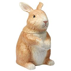 Certified International Bunny Patch 3D Cookie Jar