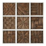 Uttermost Wooden Wall Decor (Set of 9)