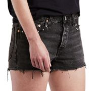 Women's Levi's® 501 Frayed Jean Shorts
